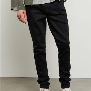 PacSun Black Stacked Skinny Jeans. 30W X 32L